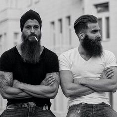 Some men simply shave daily or keep their beards trimmed, but others go for the glory!