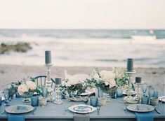 Snippets, Whispers and Ribbons – Elegant Summer Wedding Tablescape Ideas