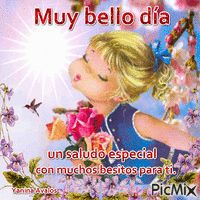 By esparrago Yanina Avalos - PicMix Good Morning Messages, Good Morning Quotes, Prayer Quotes, Spiritual Quotes, Emoticon Love, Roses Gif, Spanish Greetings, Beautiful Roses, Kisses