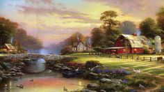 Another beautiful picture. Thank you Thomas Kincade.