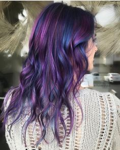 @thehairstylish is the artist... Pulp Riot is the paint. #pulpriothair #hair #haircolor #hairstyle #beauty