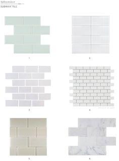 subway tile for kitchen or bathroom