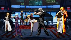 This battle is a second modified version of the nun Goeniko, the English name of the female Cal-SP (video appeared three times). Fight against KOF several we. Street Fighter Characters, King Of Fighters, Female, Concert, Stuff Stuff, Concerts