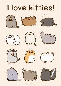 I ♥ Pusheen! I ♥ Kitties! :D ;) :)