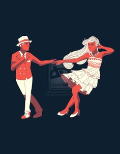 Swing Dance by AngieMyst on DeviantArt