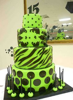 My dream cake (minus the 2nd and 3rd layer, I obviously don't need a cakenthat large)