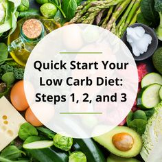 """Your friends have been doing great on a low carb or keto diet, and you want to join them. This post will share three easy-to-do steps so you can start your low carb diet and make quick progress..."" Weight Loss Success Stories, High Fat Diet, Got Off, Blood Sugar, Life Changing, Low Carb, Medical, Wellness, People"