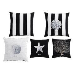 Set di 5 cuscini Corallo