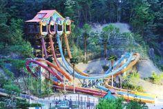 Everland Resort, Yongin, Corée du Sud