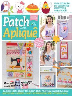 Artesanato - Apliquê - Patchwork : COL ARTE FACIL PATCHAPLIQUE 024 - Editora Minuano