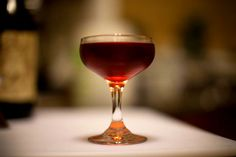 A very classic cocktail.