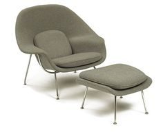 Eero Saarinen Womb Chair, if I could take 5 things to a desert island this would be one