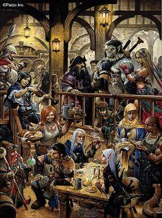 Wayne Reynolds Artworks   Fantasy Art - Gallery 1
