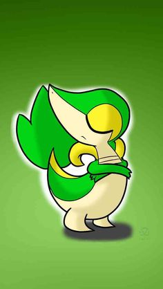 My favorite grass starter! Snivy!! :)