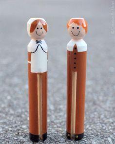 Pilgrim Clothespins