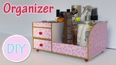 Bedside Table Organizer