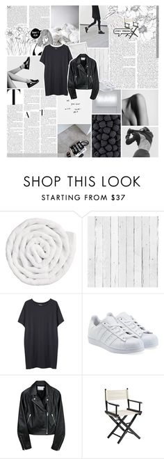 """""""restless heart"""" by kiiaa ❤ liked on Polyvore featuring VIPP, NLXL, Organic by John Patrick, adidas Originals and Pier 1 Imports"""