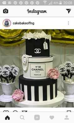 Chanel happy birthday