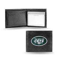 New York Jets Embroidered Leather Billfold