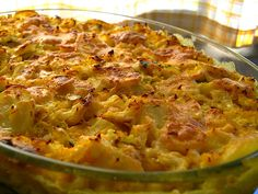 Bacalhau com Natas (Cod Fish Casserole from Portugal) - Best stuff ever.