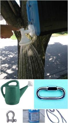 21. Camping Shower - 55 Essential Camping #Hacks and Tricks That Will Make you a #Camping Pro