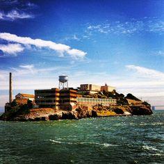 Alcatraz Island in San Francisco, CA