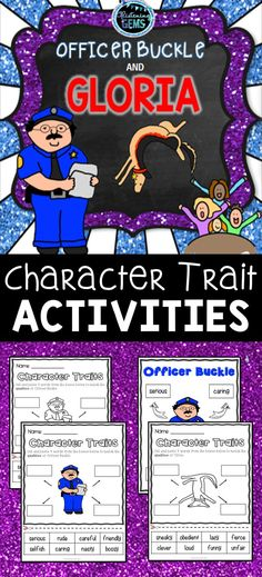 116 Best Officer Buckle And Gloria Activities Images In