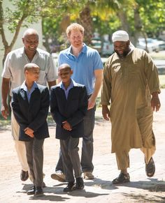 Pin for Later: Seeing Prince Harry Play Soccer With These Kids Will Make Your Heart Grow 3 Sizes