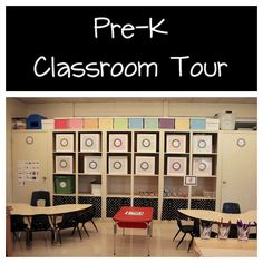Pre-K Classroom Pictures - interesting ideas for organizing centres and materials to use