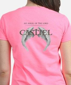 Supernatural CASTIEL Angel Wings Tee for