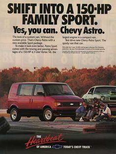 Chevy Astro ad.