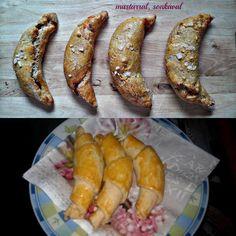 Paleo mini kifli (paleo sörkifli) Egyszerű, elronthatatlan paleo mini kifli recept Tögyi Júlitól (a sörkiflihez hasonló ízvilágú és méretű)???????? RECEPT: Hozzávalók: 10 dkg SzafiReformPaleo sütőliszt(paleo sütőliszt ITT!) 15 g útifűmaghéjliszt / vagy darált útifűmag