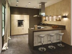 Steigerhout Bar Keuken : Best open keuken images slipcovers armchairs