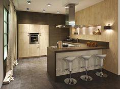 1000 images about keuken on pinterest met cooker hoods and tes - Open keuken bar ...