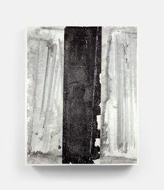 Black in the middle (2012) 55.5 x 70.5 in., Ink and acrylic on Xuan paper