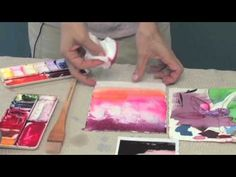 "Wet-in-Wet Technique ~ ""Watercolor Basics"", Vook Watercolor Video, Watercolor Projects, Watercolor Tutorials, Watercolor Techniques, Watercolour Painting, Painting Techniques, Art Tutorials, Painting & Drawing, Art Graphique"