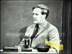 """Best-selling author John le Carré visits The Merv Griffin Show in 1965 to talk about his novels """"The Spy Who Came In From The Cold"""" and """"The Looking Glass War."""" He also discusses the film adaptation of """"The Spy Who Came In From The Cold"""" and the fact that he had no complaints whatsoever about Martin Ritt's movie version of his book. He also talks about the Cold War and the Berlin Wall."""