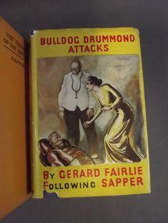 Gerald Fairlie aka 'Sapper', seven novels includin