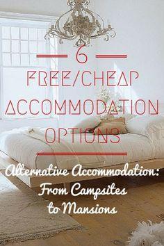 Alternative Accommodation Guide for Smart Travelers