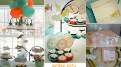 Airplane Party  Pack - includes toppers, tags, invitations, signage, and thank you notes