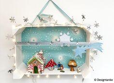 Designtanke // DIY X-MAS IN THE BOX aus Mandarinenkiste plus Weihnachtsdeko. So geht´s: Designtanke.com