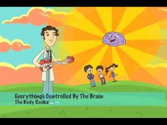 Brain Jump with Ned the Neuron: Challenges Grow Your Brain Brain Based Learning, Teaching Social Skills, Social Emotional Learning, Elementary Counseling, School Counselor, Mind Up Curriculum, Growth Mindset Videos, Human Body Science, Body Preschool