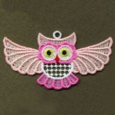 FSL Cute Baby Owls Machine Embroidery Design Free от embhome