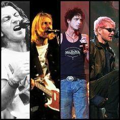 Eddie, Kurt, Chris, Layne