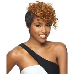 Sensationnel Bump Human Hair Wig Pixie Mix