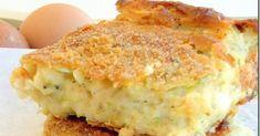Δε θα μείνει ψίχουλο….. Υλικά 3-4 κολοκυθάκια πράσινα 4 αυγά 1 φλ. τσαγιού λάδι 1 φλ. ελληνικού φρυγανιά 2 φλ. αλεύρι για όλες τις ... Greek Recipes, Pie Recipes, Cooking Recipes, Zucchini Pie, Savory Muffins, Family Meals, Delish, Bakery, Food And Drink
