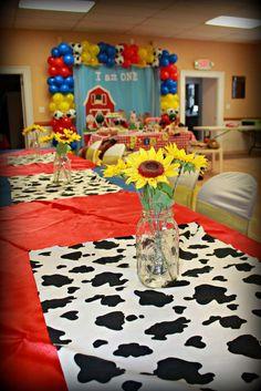 Farm Birthday Party Ideas   Photo 2 of 16