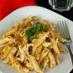 Smokey Garlic Chicken Pasta