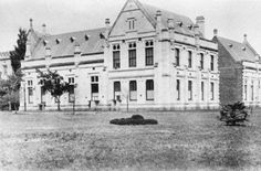 Old Physics building, 1892