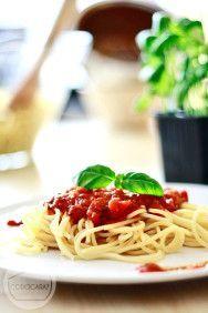 Sos neapolitański do spaghetti